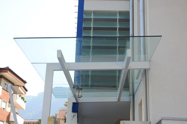 Pareti Esterne In Vetro E Legno : Glasstudio geier meran südtirol