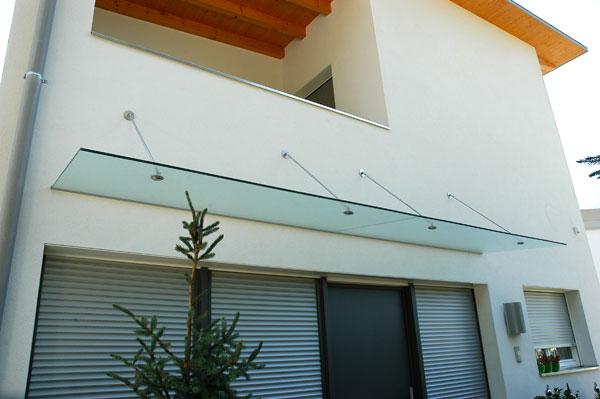 Glasstudio geier meran s dtirol - Tettoia per porta ingresso ...